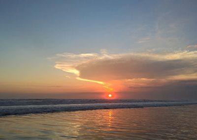 Sonnenuntergang bei Seminyak