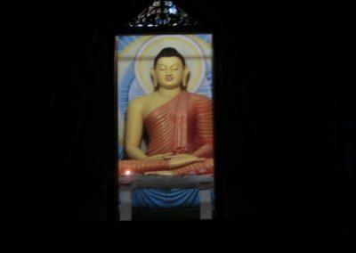 Tempelbild auf Sri Lanka